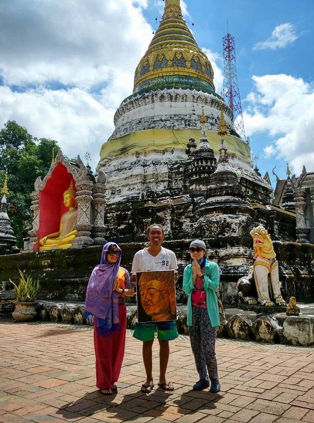"""Tạt vào Wat Buppharam – ngôi chùa trong phim """"Lost In Thailand"""""""