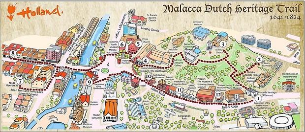 Lịch sử thành phố Malacca cổ xưa – một Hội An của Malaysia