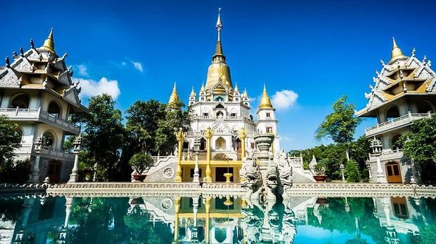 Đạp xe xuống Chùa Bửu Long quận 9 – ngôi chùa bị tưởng nhầm là chùa Thái Lan
