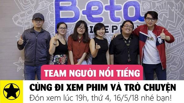Ra mắt các thành viên trong team Youtube Người Nổi Tiếng