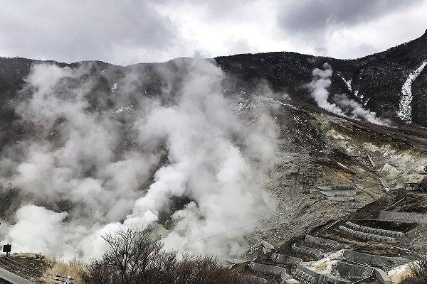 Đến thung lũng Owakudani thưởng thức trứng đen Kuro-tamago